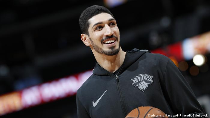 USA NBA Basketball Enes Kanter