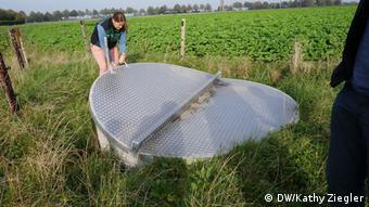 Landwirtschaft NIR-Sensor für Düngung mit Gülle (DW/Kathy Ziegler)