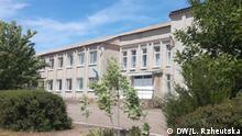 Ukraine Dorf Novovasylivka mit Schule
