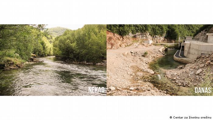 Bosnien und Herzegowina Mini-Wasserkraftwerk