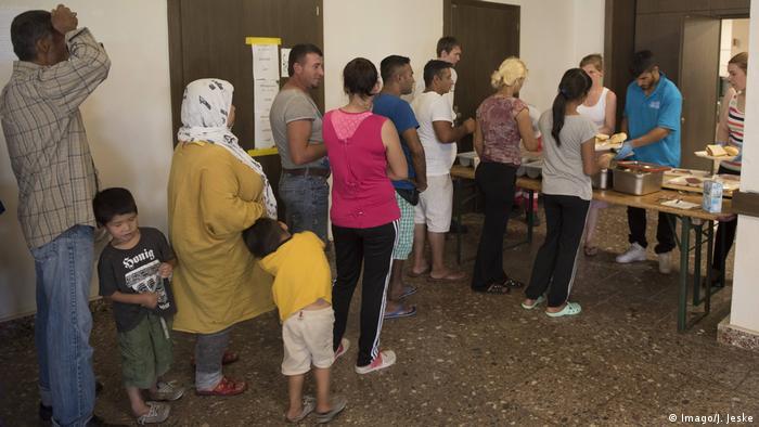 Deutschland Ausgabestelle für Flüchtlinge