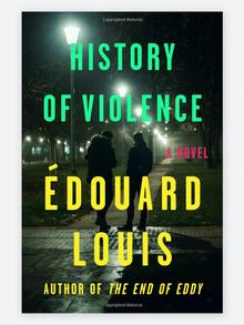 Book cover History of Violence Edouard Louis