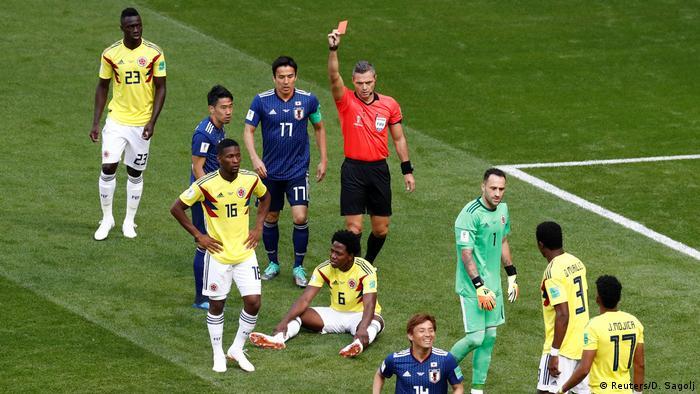 Russland WM 2018 Kolumbien gegen Japan (Reuters/D. Sagolj)