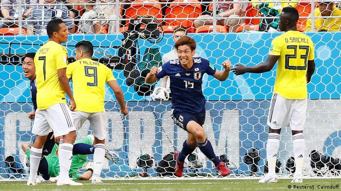 Russland WM 2018 Kolumbien gegen Japan