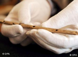 A 35,000-year-old bone flute