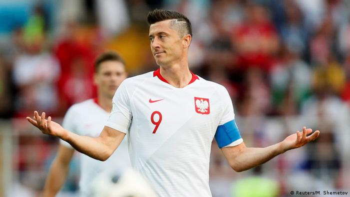 quality design f3ef0 bf9c7 World Cup 2018: Are Poland too reliant on Lewandowski ...