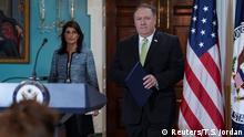 USA Ankündigung Austritt aus UN-Menschenrechtsrat | Nikki Haley & Mike Pompeo