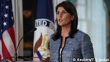 USA Washington Ankündigung Austritt aus UN-Menschenrechtsrat | Nikki Haley