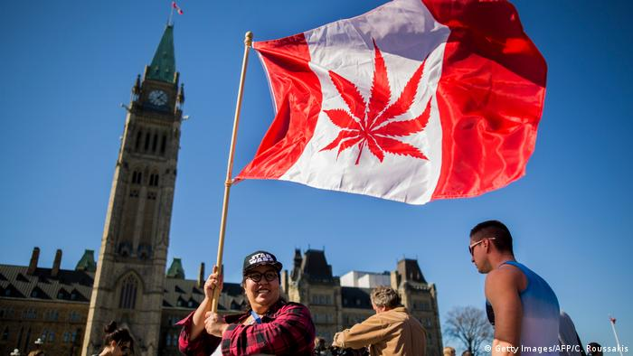 Kanada National Marijuana Day in Ottawa