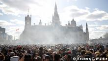 Kanada 4/20 marijuana rally in Ottawa (Reuters/C. Wattie)