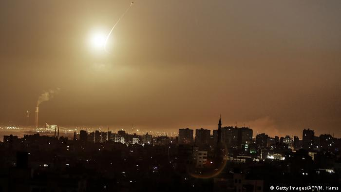 Israel Raketenabwehrsystem Iron Dome (Getty Images/AFP/M. Hams)