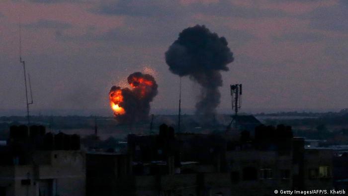 ВВС Израиля нанесли удары по объектам в секторе Газа