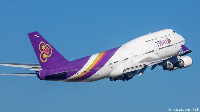 Fluggesellschaft Thai Airways International (Imago/Rüdiger Wölk)