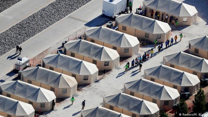 USA Aufnahmelager für illegale Einwanderer