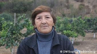 Jimena Valdebenito, campesina de Petorca.