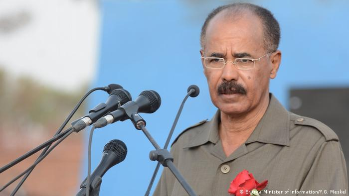 Eritrea Präsident Isaias Afwerki (Eritrea Minister of Information/Y.G. Meskel)