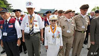 Every year, South Korean and foreign veterans pay their respects to the dead