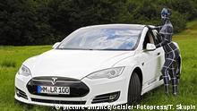 Tesla Model S Elektro-Auto