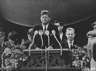 Historischer Moment: US-Präsident John F. Kennedy in Berlin
