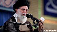 Ayatollah Ali Khamanei, Führer der Islamischen Republik Iran. Rechte: khamenei.ir