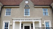 Gosport War Memorial Hospital (Reuters/H.Nicholls)