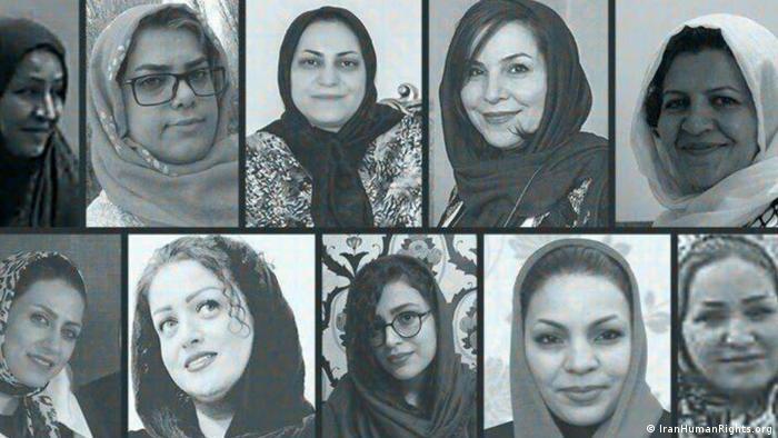 Iran Frauen im Hungerstreik (IranHumanRights.org)