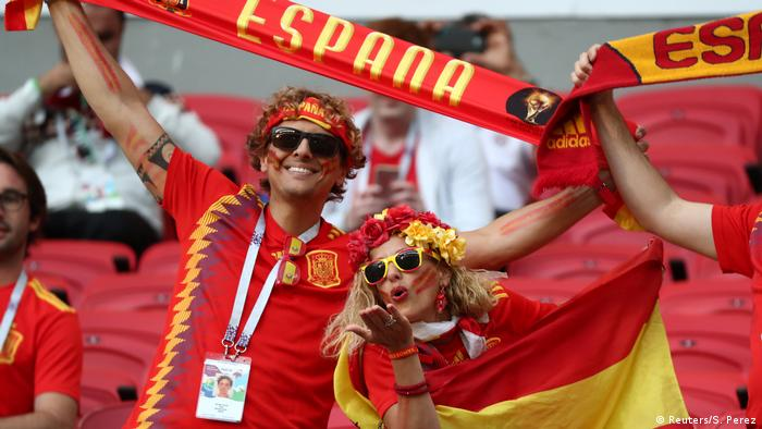 Russland WM 2018 l Spanien vs Iran - Fans (Reuters/S. Perez)