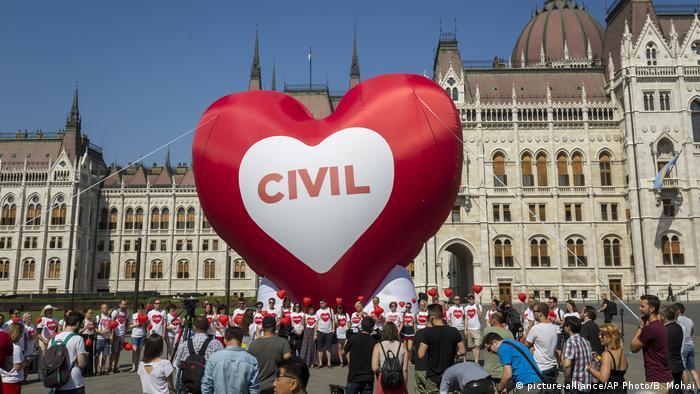 Ungarn Proteste gegen Stop-Soros-Gesetze