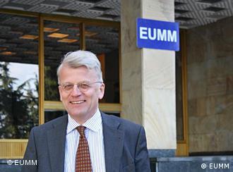 Глава миссии Евросоюза в Грузии Хансйорг Хабер