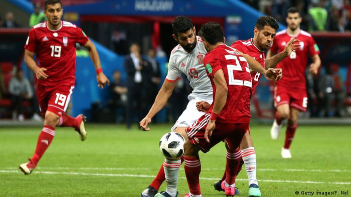 Russland WM 2018 l Spanien vs Iran 1:0 - Tor (Getty Images/F. Nel)