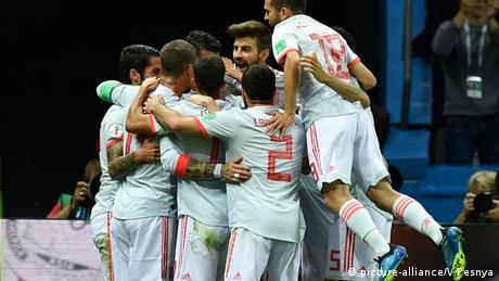 Russland WM 2018 l Spanien vs Iran (picture-alliance/V.Pesnya)