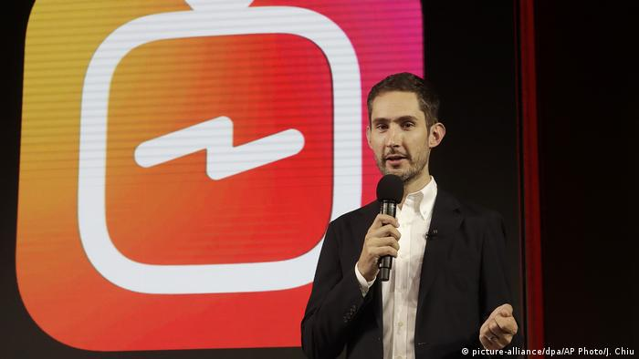 Kevin Systrom | CEO and co-founder Instagram (picture-alliance/dpa/AP Photo/J. Chiu)