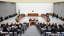 Brasília, 02/08/2017. Sessão da Corte Especial do STJ. Foto : Sergio Amaral Sitzung des Obersten Gerichtshofs (Superior Tribunal de Justiça - STJ) - Brasilia, Brasilien. Copyright: Sergio Amaral/STJ