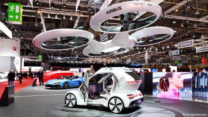 Pop Up Next drone car