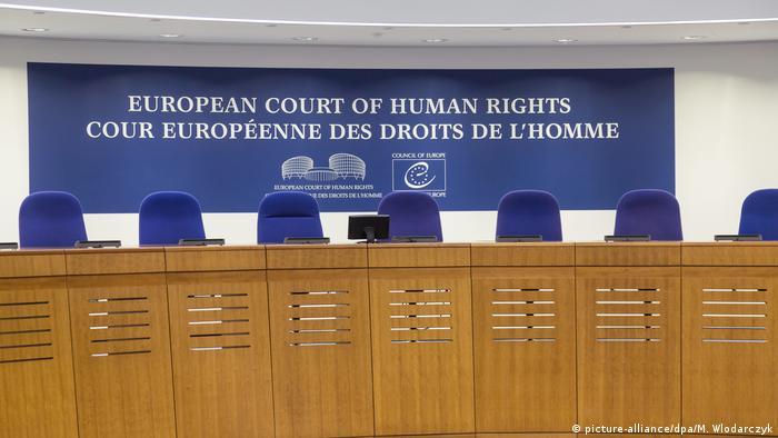 European Court of human rights Europäischer Gerichtshof für Menschenrechte