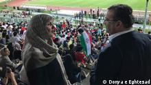 Tayebeh Siavashi im Azadi Stadion