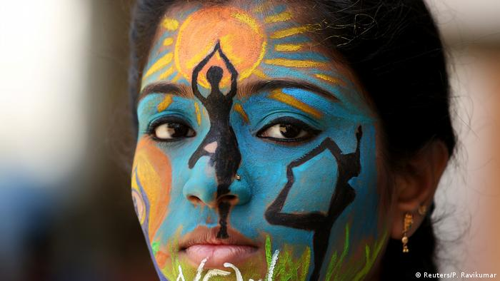 Indien internationaler Jogatag in Chennai