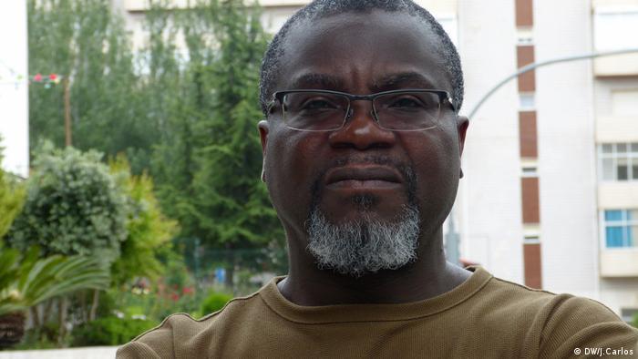 Aktivisten sprechen über die angolanische Enklave Cabinda in Portugal