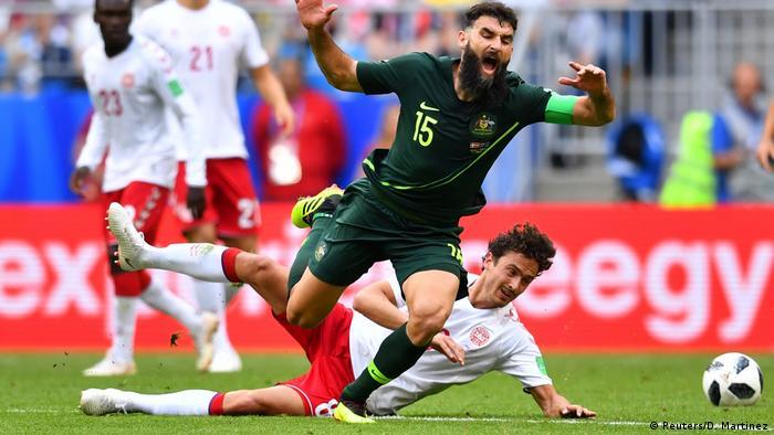 Russland WM 2018 Dänemark gegen Australien (Reuters/D. Martinez)