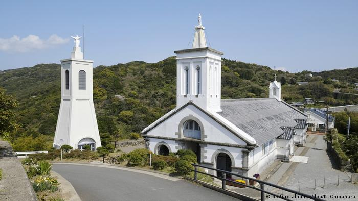 Hidden Christian sites in the Nagasaki region in Japan (picture-alliance/dpa/K. Chibahara)