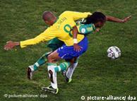 فوز السامبا البرازيلي على جنوب افريقيا بعد عناءٍ طويل 0,,4433537_1,00