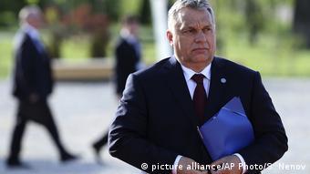 Bulgarien EU und Westbalkan Gipfel - Ungarischer Premierminister Orban (picture alliance/AP Photo/S. Nenov)