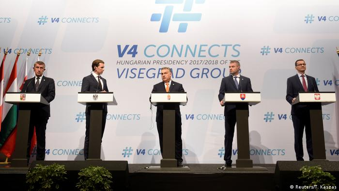 Visegrad Group leaders
