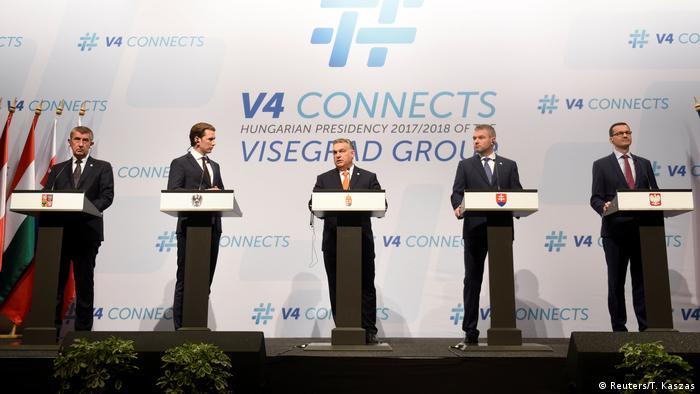 Austrijski kancelar Kurz s kolegama Višegradske skupine