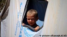 Syrien, Leben der Syrer im Schutzzelt