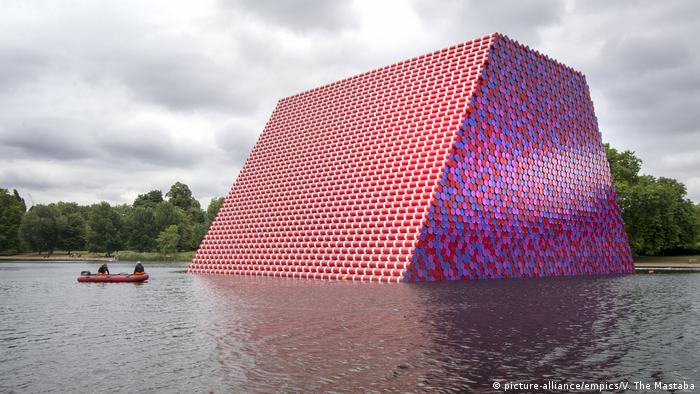 The Mastaba in Hyde Park (picture-alliance/empics/V. The Mastaba)