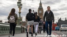 UK Touristen in London
