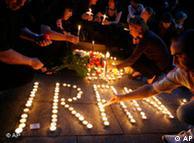آکسیون ایرانیان خارج از کشور برای افشاگری درباره کشتار معترضین در ایران