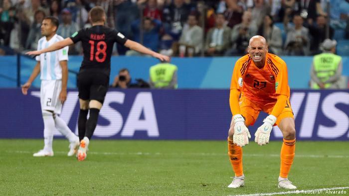 Cinco momentos de la derrota de Argentina
