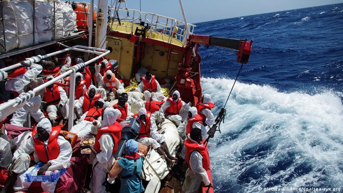 سازمان ملل: طی سه روز ۲۲۰ پناهجو در دریای مدیترانه غرق شدند